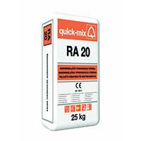 QUICK-MIX RA 20 renovační vyrovnávací nivelační stěrka 25kg (48)