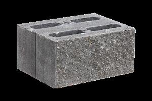 KB-BLOK  7-31 B tvarovka černá (40) oboustranně štípaná - betonové výrobky