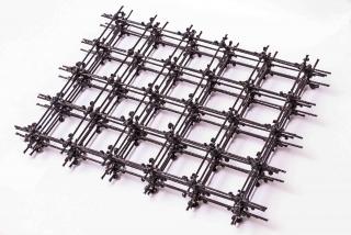 """ORLITECH MESH kompozitní čedičová """"kari"""" síť 3,0mm oko100/100 1,2x30m (36m2)"""