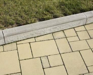 BEST SINIA 100x250x1000mm obrubník přírodní (24) - betonové výrobky