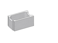 CSB bednící tvárnice 25 250x250x500mm (40)
