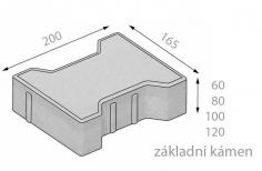 CSB KOST  8cm dlažba červená (8,40m2) - cs beton