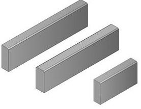 CSB obrubník T 8 půlka 80x250x500mm přírodní (60) - cs beton