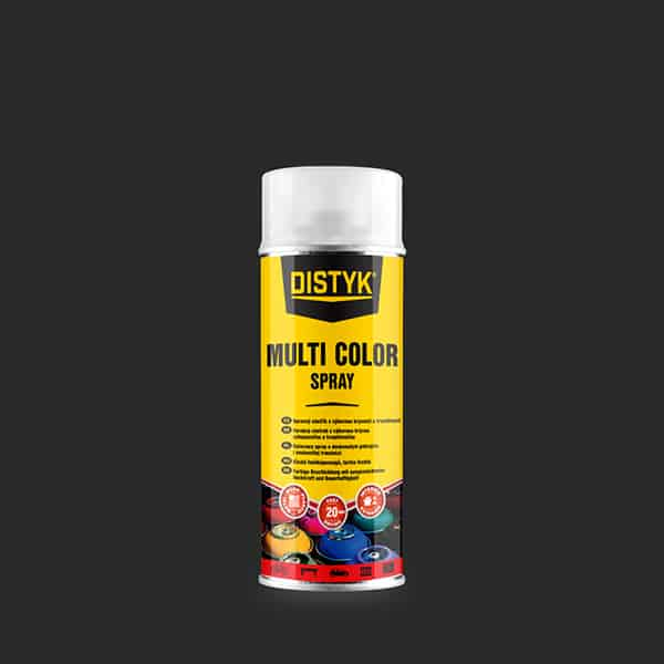 DB Multi color spray 400ml RAL9010 bílá DISTYK EU CZ-SK-HU-PL-DE