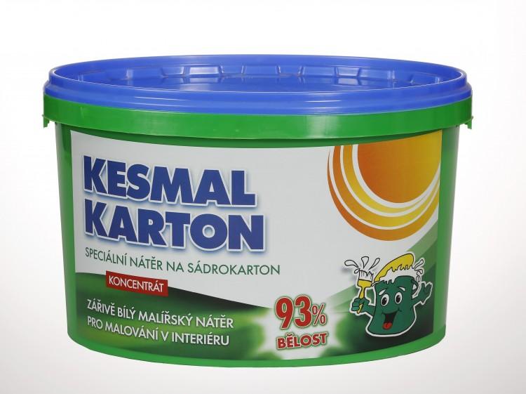 KESMAL Karton mal.nátěr  3,5kg / 40m2 / 93%bělost - kessl