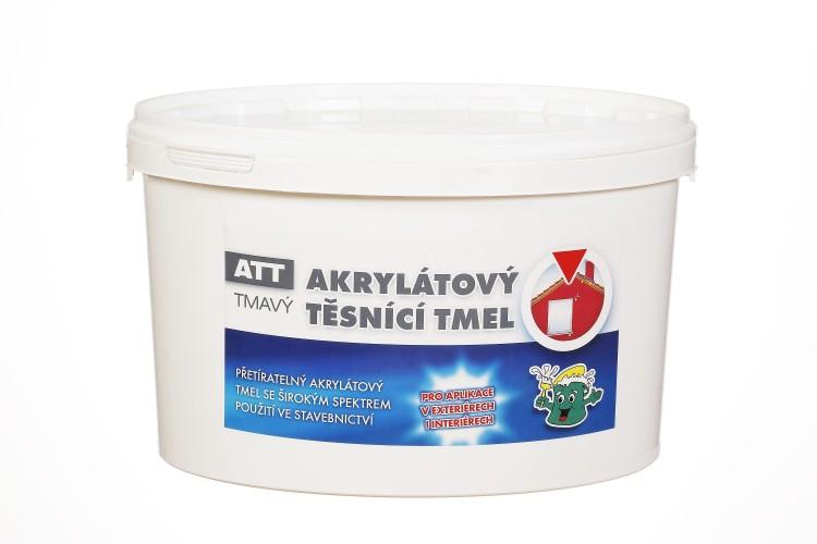 KESSL ATT akrylátový těsnící tmel  5,0kg tmavý - kessl