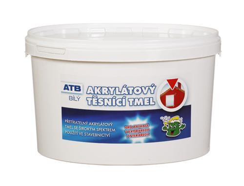 KESSL ATB akrylátový těsnící tmel  5,0kg bílý
